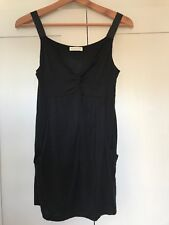 Whistles Black Strappy Top Size 1