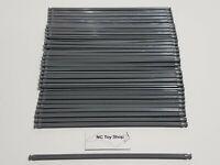 "50 KNEX Dark Gray Rods 7.5"" Bulk Standard Lot Replacement Parts Pieces K'NEX"