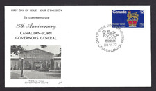 Canada  # 735   NR.  Governor General of Canada Cover     New 1977 Unaddressed