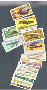 BROOKE BOND TEA HISTORY OF AVIATION - CHOOSE CARDS