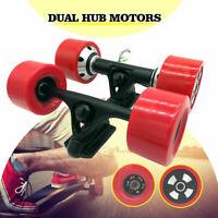 90mm Dual 6364 Hub Motors Drive Kit For Electric Skateboard Longboard Part 42V