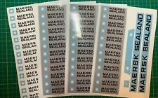 Custom Replacement Stickers for Lego 10152 Maersk Container Ship