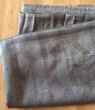 NWT Michael Kors MK Monogram Logo Jacquard Scarf Wrap Gray Wool