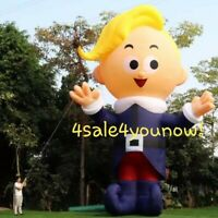 32' FOOT CHRISTMAS INFLATABLE HERMIE THE DENTIST RUDOLPH CUSTOM MADE NEW!!!!!