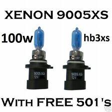 100W Superweiß Xenon HB3XS 9005XS Scheinwerferlampen HB3A JEEP / Chrysler 100W