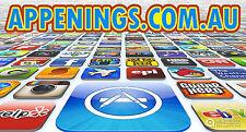 APPENINGS.COM.AU DOMAIN NAME ONLINE APP STORE APP SHOP