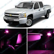 Pink Interior LED Package For Chevrolet Silverado 2007 and Up (6 Pieces) #840