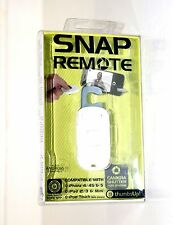 NIB THUMBSUP SNAP REMOTE COMPATIBLE WITH IPHONE 4/4S & 5 IPAD 2/3 & MINI ANDROID