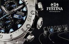 Catálogo festina Chrono bike relojes relojes catálogo Catalog watch relojes folleto