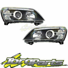 HEADLIGHTS PAIR SUIT WM STATESMAN CAPRICE HOLDEN 06-13 HEADLAMPS HEAD LIGHTS
