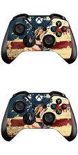 Xbox One Controller Skin Foils Sticker Screen Protector Set (2 pcs)- WW2 Motif