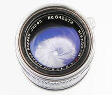 Nikkor 5cm f2 Leica SM  #642279