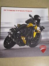 CATALOGUE MOTO : DUCATI : STREETFIGHTER 09/2012