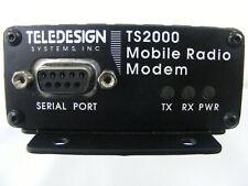 Teledesign Mobile Radio Modem Ts2000