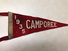 1935 Camporee Felt Mini Pennant