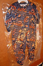 CHICAGO BEARS 6 MONTHS INFANT BLANKET SLEEPER Official NFL footed pajamas NEW!