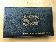 More details for union castle souvenir post card album no 1