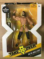 WWE Mattel Seth Rollins NXT Takeover Elite Series Figure