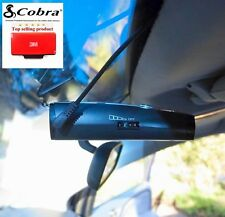 One New Cobra Radar Detector Permanent Windshield Mount 9-17 For Most Models