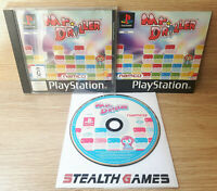 Mr. Driller Ps1 PAL Complete Black Label Sony Playstation 1 NAMCO 1999 Puzzle
