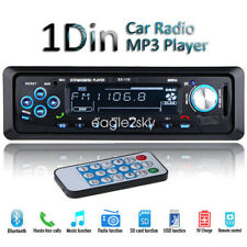 Bluetooth Car Stereo Radio Headunit MP3/USB/SD/AUX/FM In-dash For Android iPhone