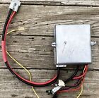 1960s EVINRUDE JOHNSON OMC Electric JUNCTION BOX and Switch key /plate