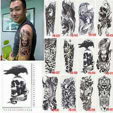 1 Sheets Body Art Tattoo Sticker Waterproof Removable Large Arm Temporary Tattoo