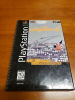 WipEout (Playstation 1, 1995) PS1 Longbox Complete with Registration Card TESTED