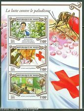 NIGER  2015 BATTLE AGAINST MALARIA  SHEET WITH RED CROSS EMBLEM MINT  NH