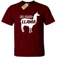 No Prob Llama T-Shirt Mens Funny problem