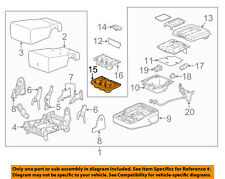 GM OEM Front Seat-Cup Holder 23423272