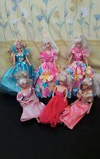 Vintage poupée Bundle (avec fleurs flowers dress up)