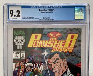 Marvel Comics Punisher 2099  #5 CGC 9.2