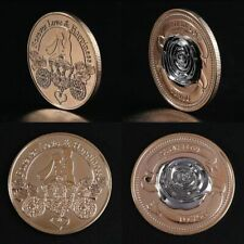 3D rose love Commemorative Coin Collection Gift Souvenir Art Metal Lovers Gift