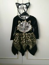 Childs Halloween dressing up costume with headband age 2/3