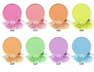 Bright Neon Pastel UV Mini Eyeshadow Long Lasting Various Colours