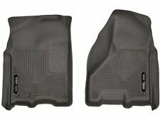 For 2012-2018 Ram 3500 Floor Mat Set Front Husky 34538RQ 2013 2014 2015 2016