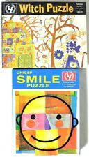 ESAR3954. VINTAGE: 2: UNICEF SEALED PUZZLES featuring SMILE & WITCH