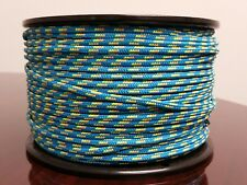 Tobby SPG Lace Cord 100 meter ( 328' ) roll Blue / Orange / Neon
