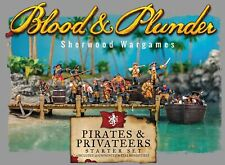 Pirates And Privateers Starter 28mm Blood & Plunder Piracy Firelock Games BNIB