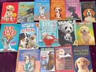 LOT 15 ANIMAL BOOKS K-12 YOUNG ADULT DOGS CATS WILD HOMESCHOOL MARLEY SHILOH