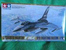Tamiya 1/48 Lockheed Martin F-16C Block 25/32 Fighting Falcon ANG Model Kit