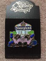 LE Disney AUCTIONS Pin Disneyland Marquee Ursula Little Mermaid Villain Free D