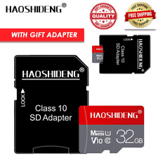 class 10 4GB  8GB 16GB 32GB 64GB micro sd card TF memory card with free adapter