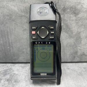 Garmin GPS 38 Handheld Marine Personal Navigator Unit Hiking Camping Fishing