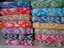 10pcs Handmade Quilt Vintage Kantha Bedspread Throw Cotton Blanket Gudari Twin@