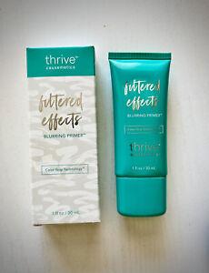 thrive causemetics Filtered Effects Blurring Primer Full Size 1 oz./ 30 ml. New