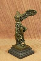 Bronze Nike Winged Victory Sculpture Statue Louvre Smothrace Art Statue Artwork