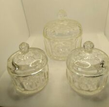 LEAD CRYSTAL DRESSING TABLE ORNAMENTS