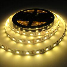 5050 Warm White 5M 300Leds Led Strip Lights Lamp Tape Ribbon 12V